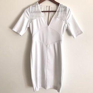 VICTORIAS SECRET white dress size 2